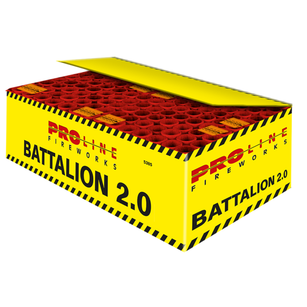 Battalion 2.0 140 shots cakebox