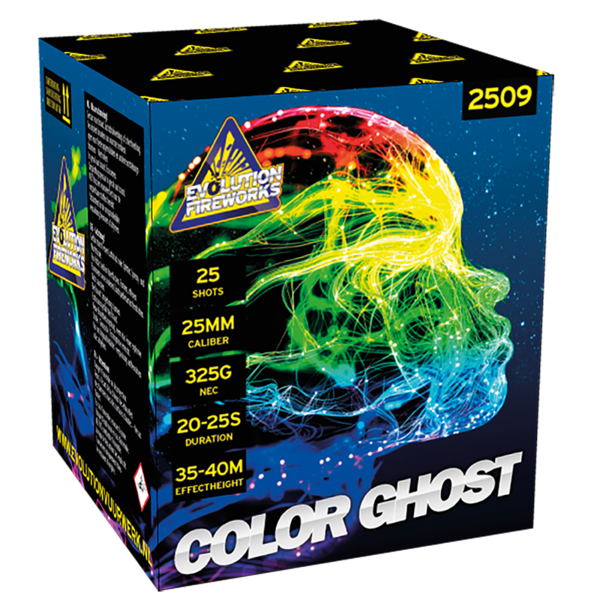 Color Ghost 25 shots